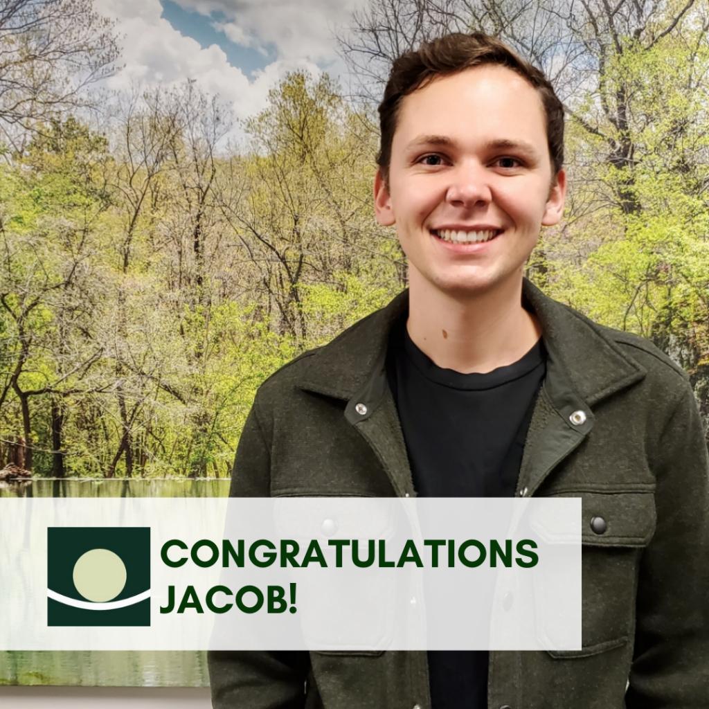 Jacob FE congrats post